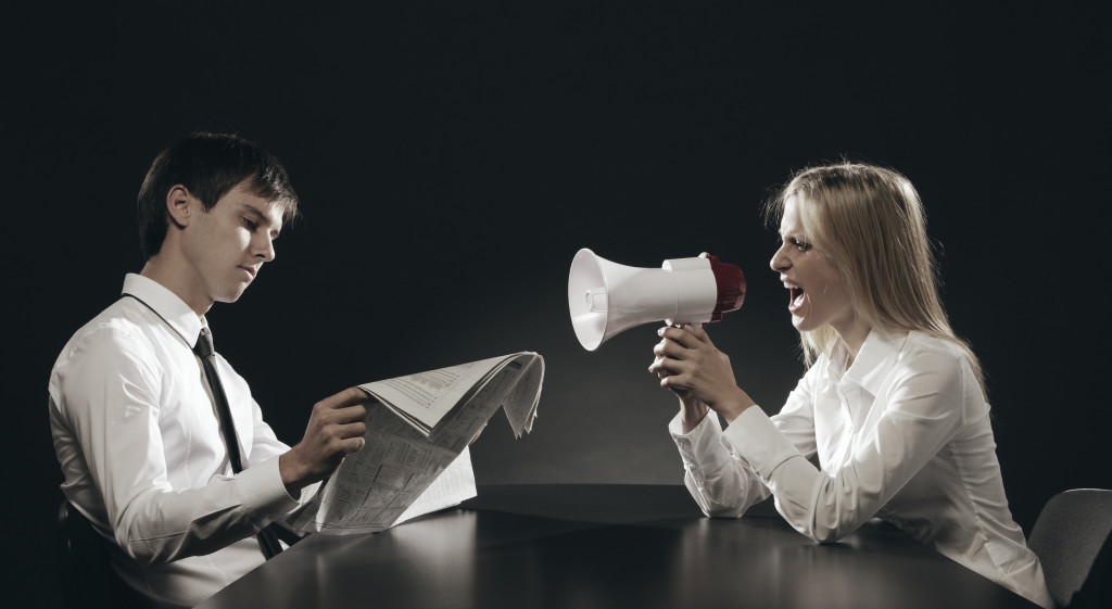 How is communication at YOUR workplace? Image courtesy of PhotoDune